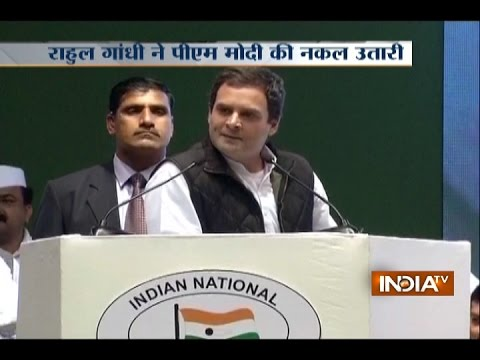 Rahul Gandhi attacks Narendra Modi with 'Daro Mat' speech