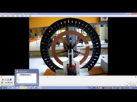 45. système mécanique linéaire amorti: pendule de Pohl 1/3
