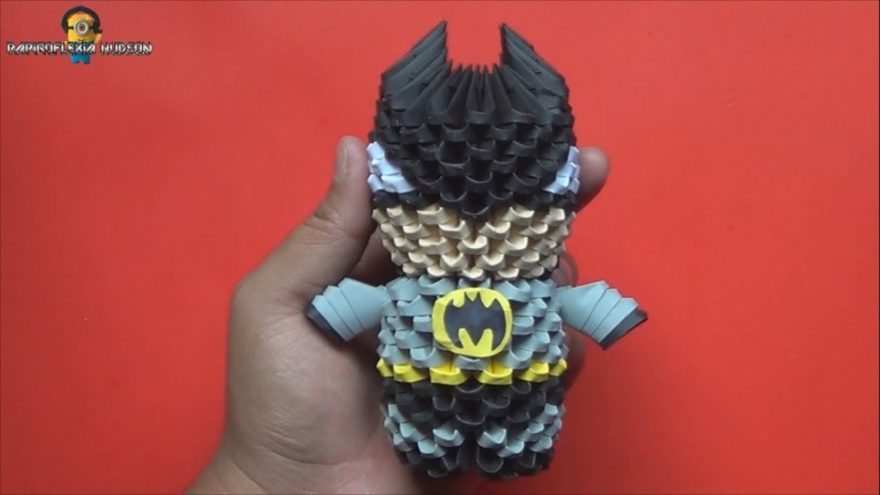 Origami 3D Mini Batman 2 - photo#49