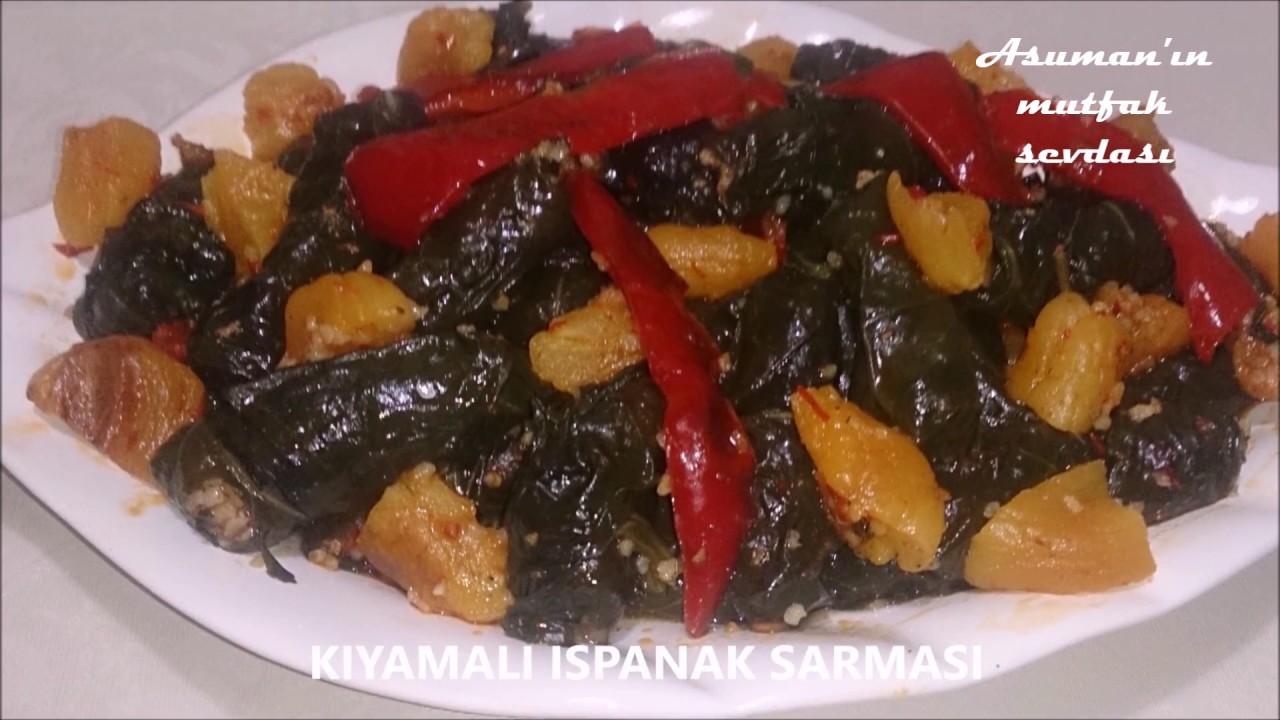 Kıymalı Ispanak Videosu