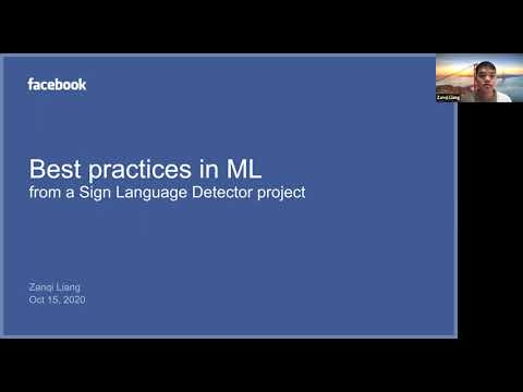 Facebook X DSSG: Detecting Sign Language