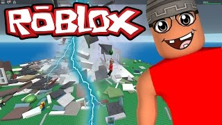 ROBLOX-The ray of Chance (Natural Disaster Survival)