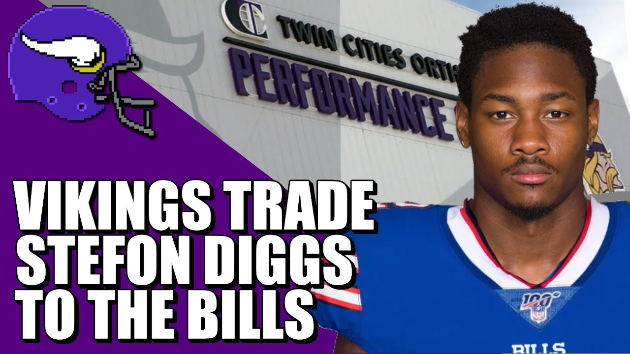 Vikings trade disgruntled WR Stefon Diggs for draft picks, including ...