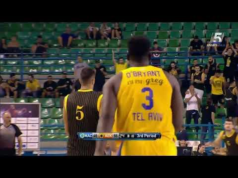 Recap: Maccabi FOX Tel Aviv - AEK Athens 95:99