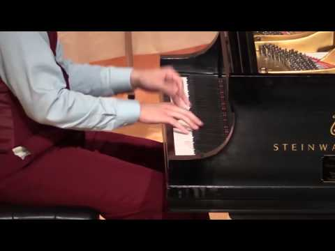 "David Cavalari performing ""Café Society Rag"" by Johnson, Ammons & Lewis"