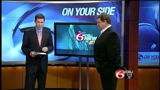 John Goodman Stops by WDSU News at 4