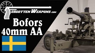 Swedish Antiaircraft Artillery: Bofors 40mm Automatic Gun M1