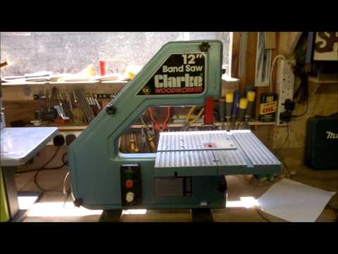 how to set up a king bandsaw for resawing