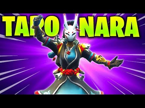 Taro And Nara Skin Emote GAMEPLAY Review (Fortnite Battle Royale) Is It Good Or Bad | TamashaBera