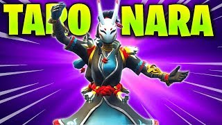 Taro et Nara Skin Emote GAMEPLAY Review (Fortnite Battle Royale) Is it Good or Bad