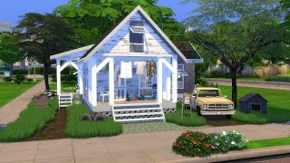 YOUNG PARENTS FIRST HOUSE   The Sims 4   CC Speed Build