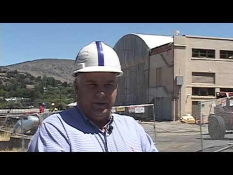Klamath Union High School construction underway