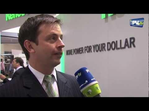 PV.TV Solar Photovoltaics – Interview ReneSola Solar Power International 2012 ENG