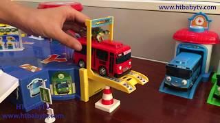 Wheels On The Tayo Bus And Dinosaurs 🚌 Nursery Rhymes 4 Kids  | HT BabyTV ✔︎
