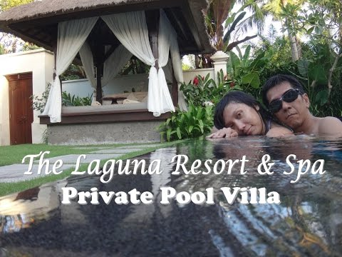 Honeymoon in Bali - Day 10 - Private Pool (The Laguna Resort & Spa) June 22, 2014