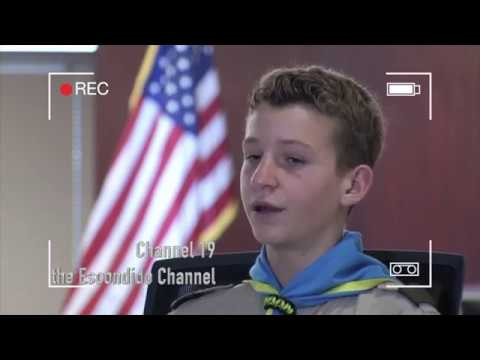 Sean Golding Bear Valley Middle School Boy Scout Lifesaving