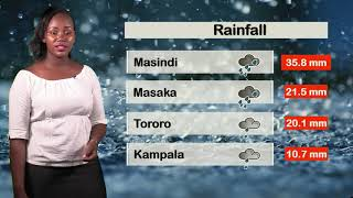 Weather forecast by Juliet Alitubeera for 1 11 2019