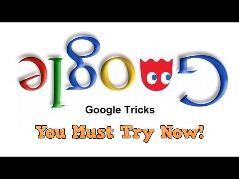 Do a barrel roll & Z or R twice in google | Google crazy search tricks