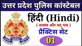 UP POLICE CONSTABLE 2019 || HINDI IMPORTANT QUESTION || PRACTICE SET - 01