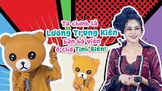 Con gấu YÊU NGHIỆT đích thực là Lương Trung Kiên bán bò viên ở chợ Tịnh Biên   SML