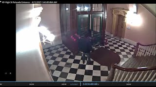High Street Entry Video: Man on drugs broke three windows, trespassed at Ohio Statehouse, troopers s