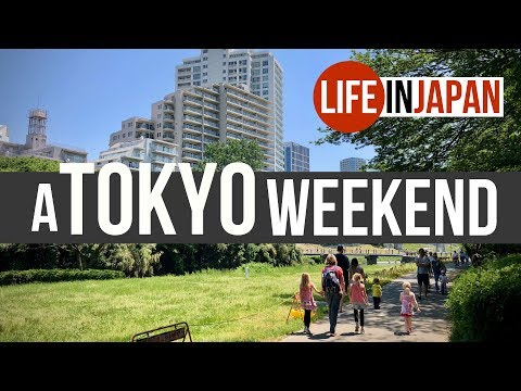 A Tokyo Weekend With Our American Family | Life In Japan Episode 2