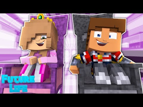 QUEEN KELLY & KING DONNY ARE TURNED INTO BABIES! Minecraft Future Life