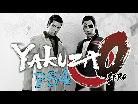 YAKUZA 0 PS4 Gameplay
