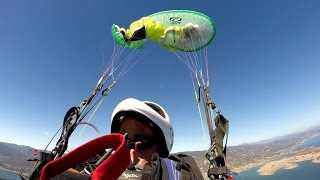 SIV Paragliding Training - Full Stalls, Spirals, Asymmetric Collapses