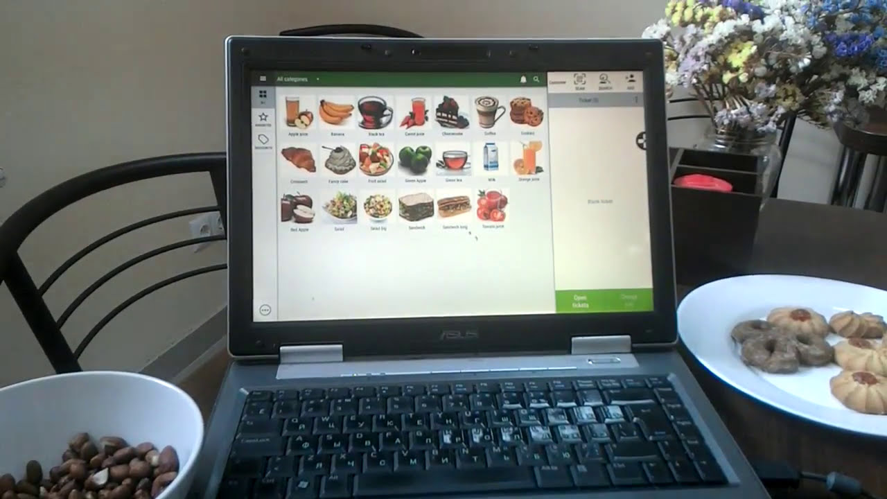 Is it possible to install Loyverse POS on a PC or Windows?