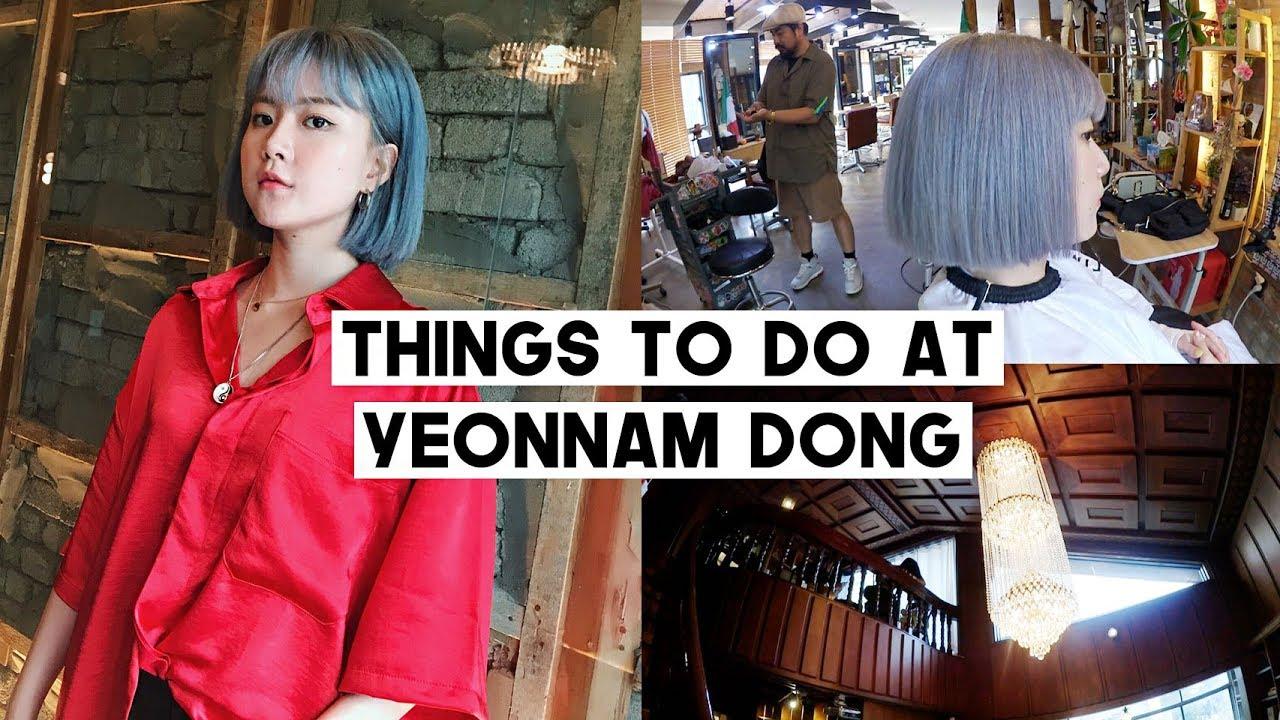 9eb0e15a5 Dyeing Hair Into Lavender Ash, Antique Townhouse Cafe, Vegan Bakery,  Shopping | Q2HAN – Shopping time