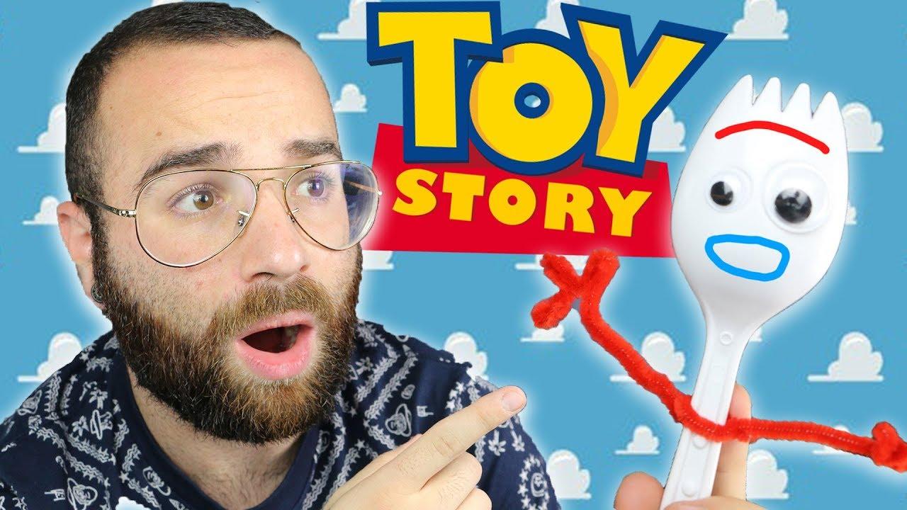 JE FABRIQUE FORKY DE TOY STORY 4 - DIY