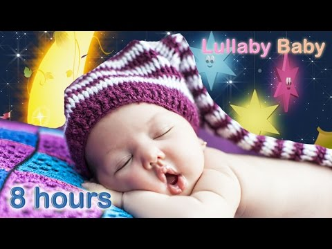 ☆ 8 HOURS ☆ Lullabies for Babies to go to Sleep ♫ MUSIC BOX ☆ Baby Lullaby Songs Go To Sleep