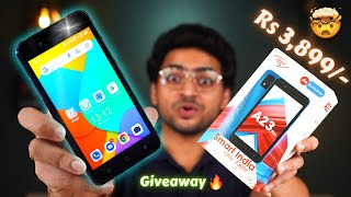 The Most Affordable 4G Android SmartPhone itel A23 Pro Unboxing amp Giveaway