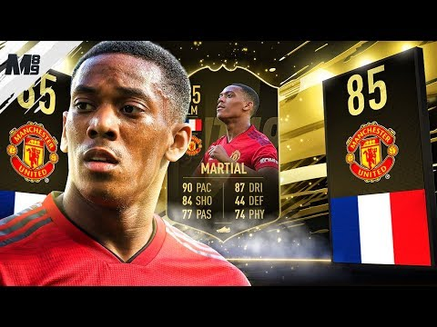 FIFA 19 IF MARTIAL REVIEW | 85 IF MARTIAL PLAYER REVIEW | FIFA 19 ULTIMATE TEAM