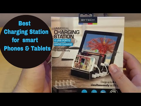 bytech-universal-mobile-device-charging-station--unboxing-&-review