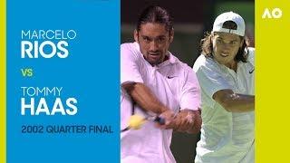 AO Classics: Marcelo Rios v Tommy Haas (2002 QF)