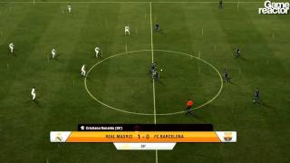 FIFA 12 gameplay Real Madrid CF - FC Barcelona
