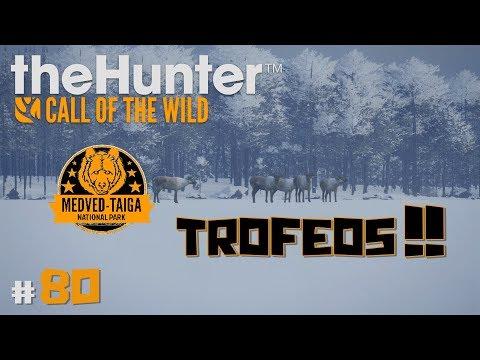 🦌theHunter: Call of the Wild #80 | QUIERO TROFEOS RICOS! MEDVED-TAIGA | Directo en Español