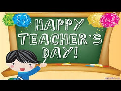 Teachers Day Celebration- 2014