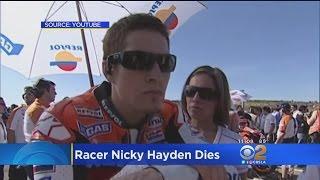 Motorcyclist Nicky Hayden Dies From Crash Injuries