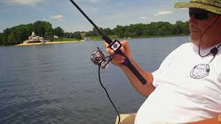 One Hand / One Arm Electric Fishing Reel