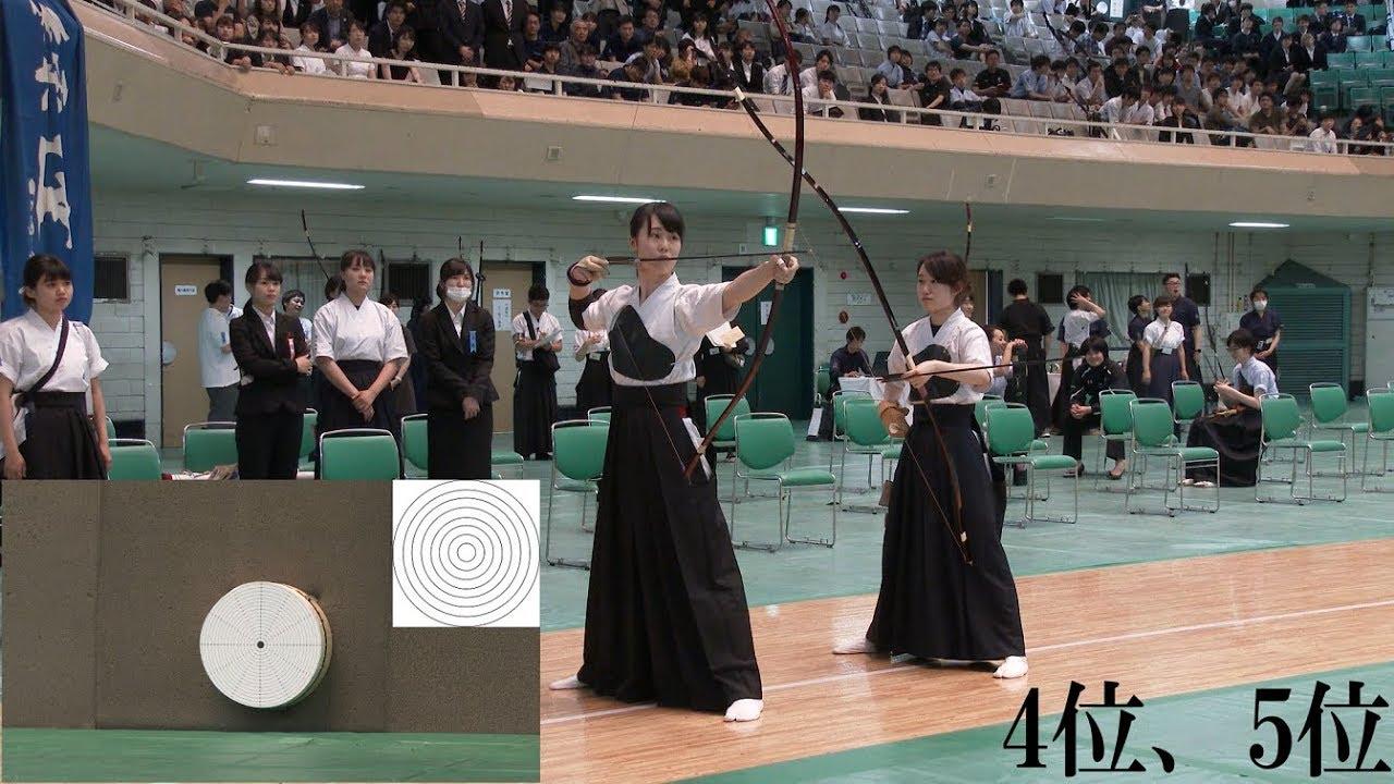 第49回全関東学生弓道選手権大会女子個人戦順位決定遠近競射