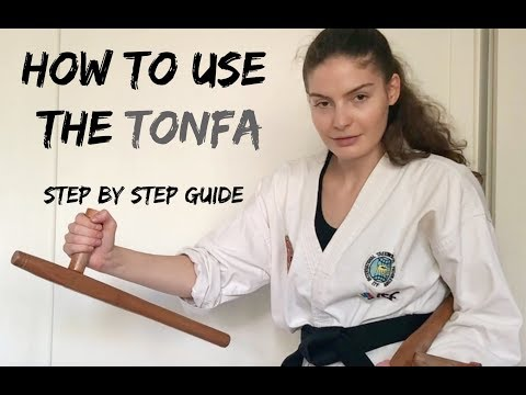 How to use the Tonfa | Step by Step Guide 🥋The Martial Artist's Way