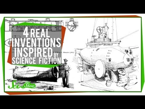 4 Real Inventions Inspired by Science Fiction