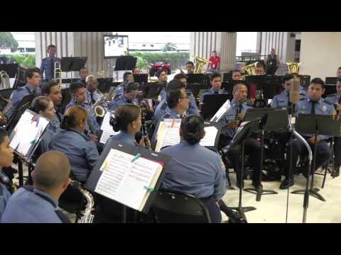 Panamanian Music-Banda de Música Bomberos Panamá-Video Tino- Valdivieso-Edgardo Quintero