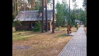 Гостиничный комплекс Ранчо - прогулка по территории, Отдых в Беларуси