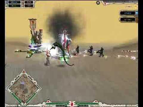 DarkCrusade 1.2 replay:Necrons Vs Eldar-Ancient Enemies P1