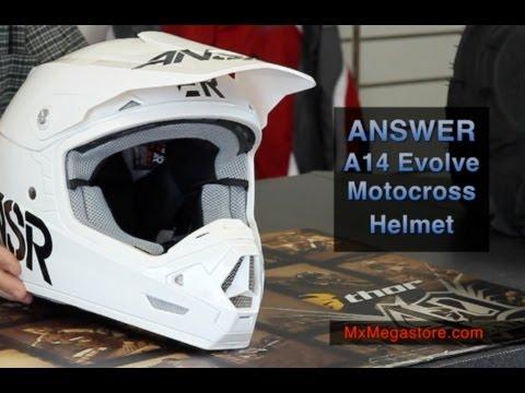 2014 Answer A14 Evolve Motocross Helmet at MxMegastore.com