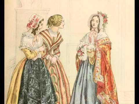 Франция мода 19 век